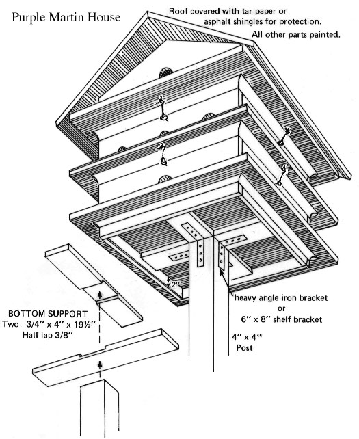 Bird Houses Plans For Martins Over 5000 House Plans